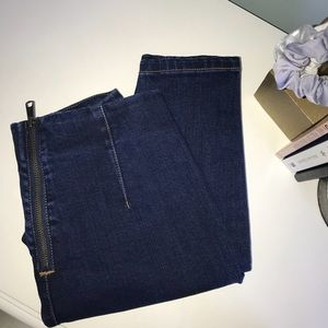 Urban Outfitters zip jeans